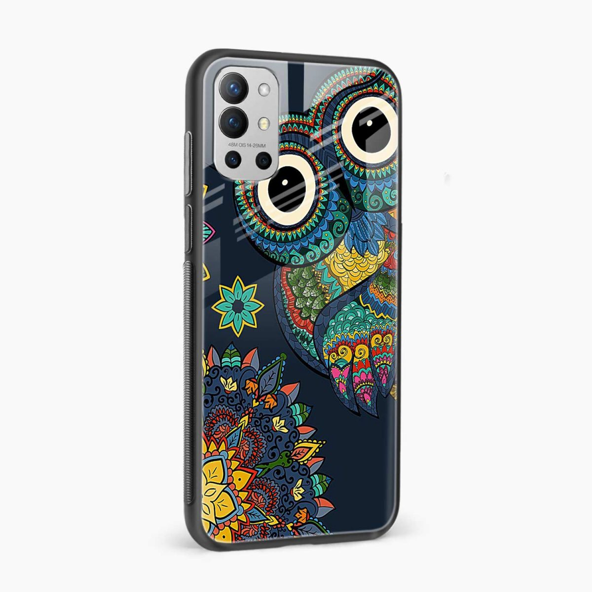 owl eyes side view oneplus 9r back cover