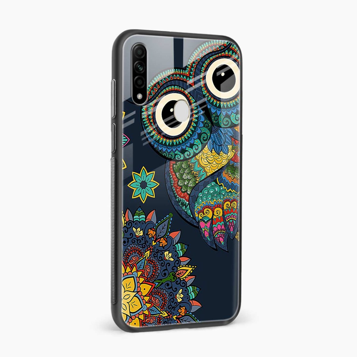 owl eyes side view oppo a31 back cover