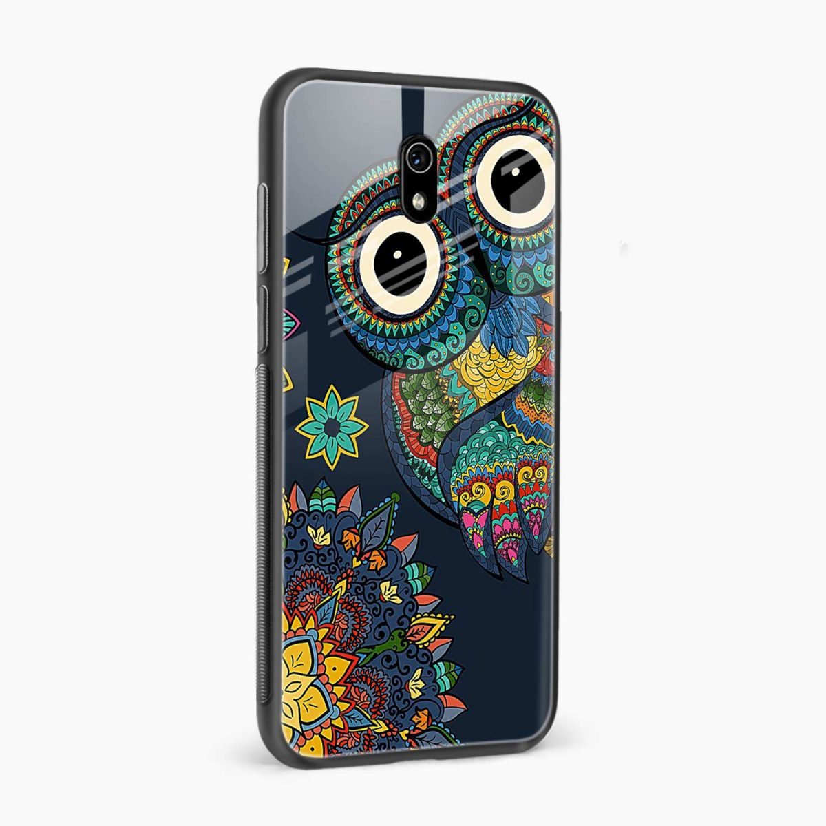 owl eyes side view redmi 8a back cover